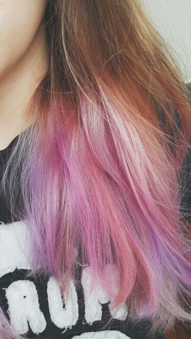 Faded #cottoncandy #hair.