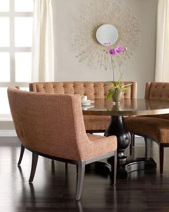 Round Table Banquette