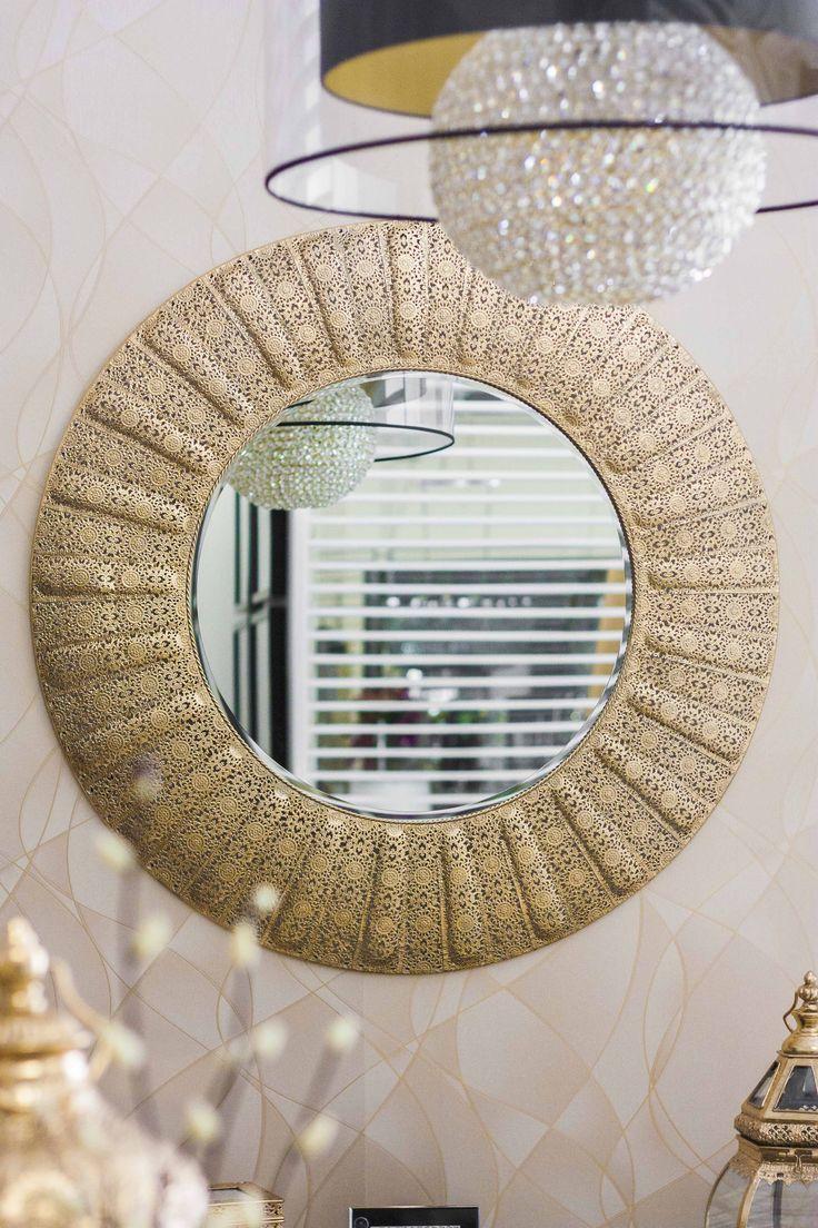 Mirror #RealClassic #GreenApple #GAhomestyle #homestyle #Decoration #gold #Mirror #iron