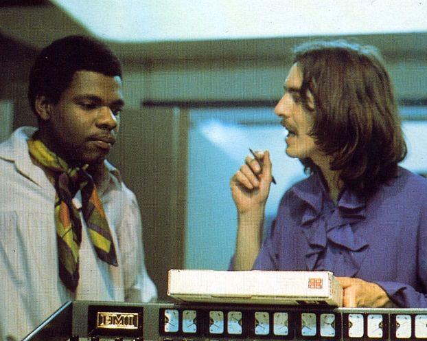 George and Billy Preston 1968