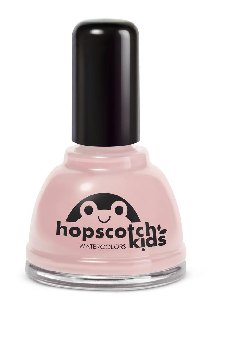 Natural Nail Polish :  Teddy Bear, Teddy Bear (shimmering pale pink)