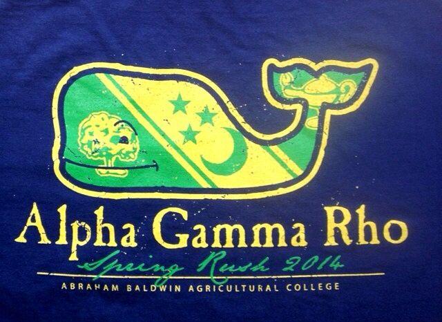 Alpha Gamma Rho AGR