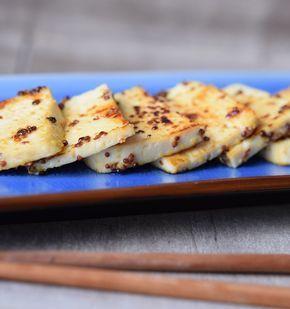 Tofu a la mostaza