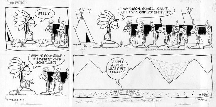 Tumbleweeds comic strip characters