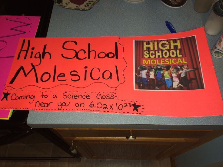 Mole day poster