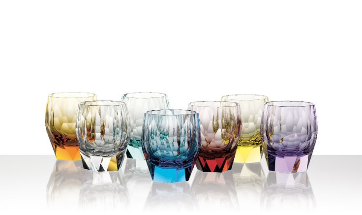 Home accessories - Drinking set Kubismus 29820 » Moser glassworks - Luxury Bohemian Crystal Glass