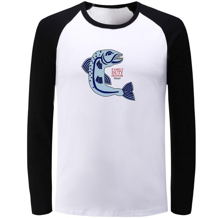 New Cotton Men's Women's Girls Boys T Shirt Game of Thrones House Tully Family Dut Honor T-shirt Male Tshirt Casual Streetwear - Direwolf Shop Direwolf Shop