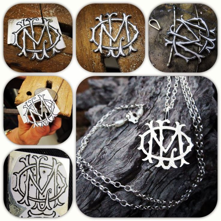 For information on monograms and other pieces I make please go to  http://www.etsy.com/shop/PearlsByDesign