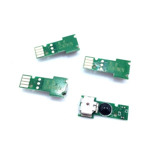 Yotat 1set One Time Chip Lc3619 Lc3617 Cartridge Chip Lc3619xl For