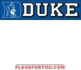 Duke Blue Devils Banner 8' x 2'