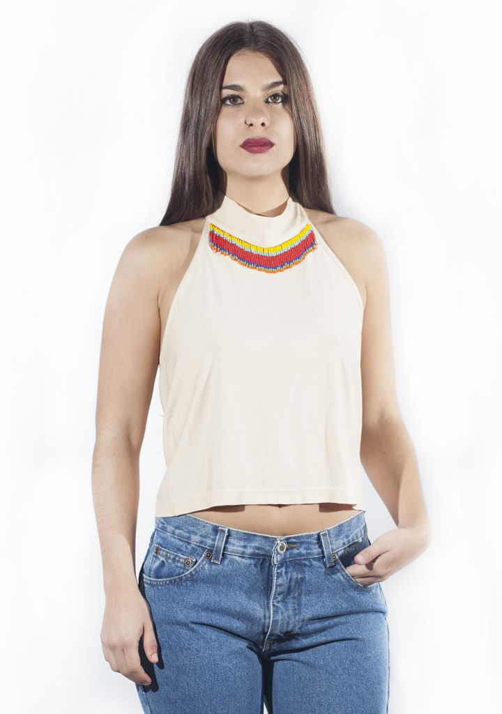 Vintage indian top. http://marlet-shop.com/collections/tops/products/vintage-top