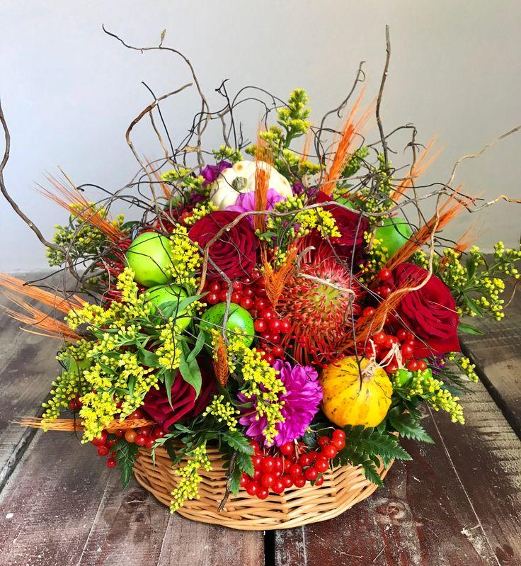 autumn floral basket | Aleksandra | concept Alexandra Crisan