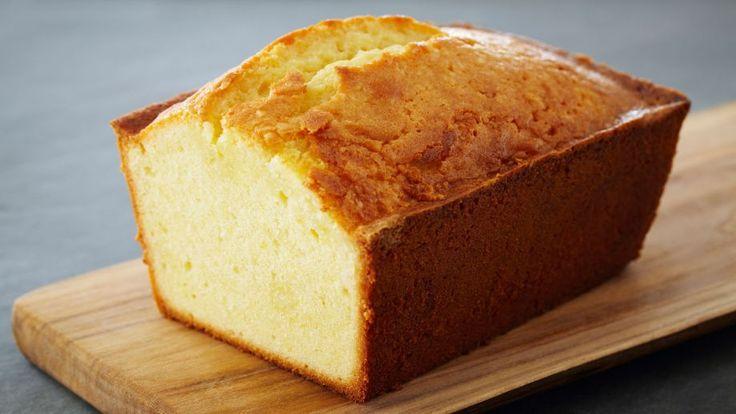 Pound cake de limón con glaseado de limón (Classic lemon pound cake) - Receta - Canal Cocina