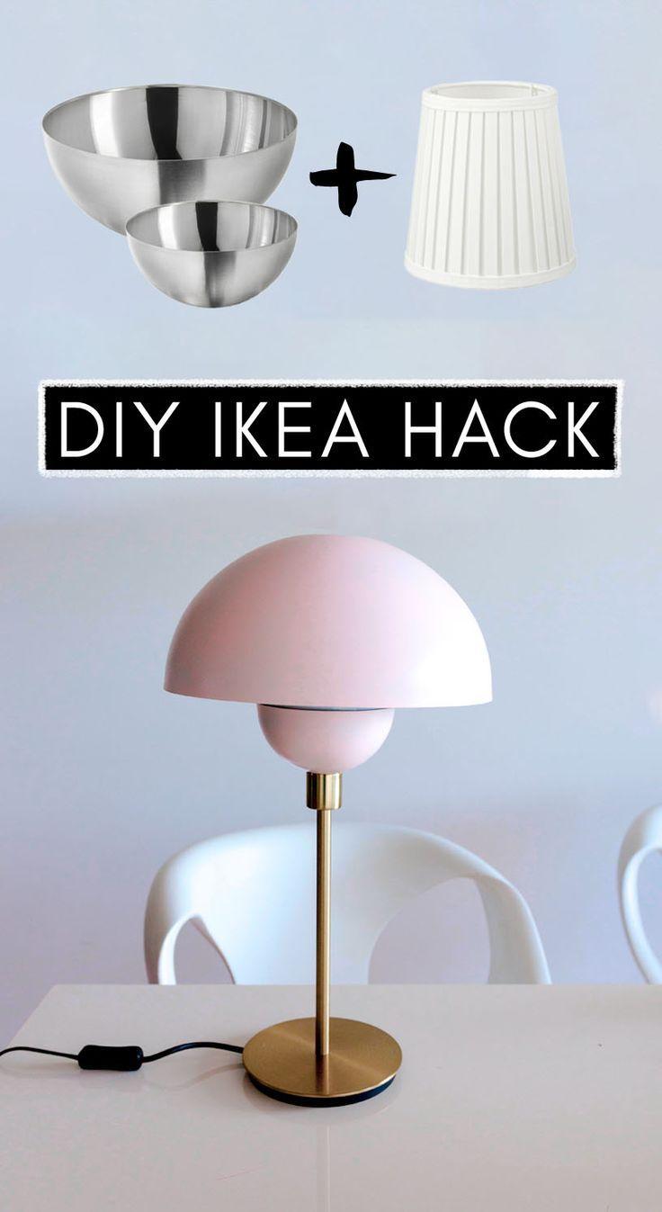 Ikea Hack Designerlampe Selber Machen In 2020 Ikea Lampe Ikea Hack