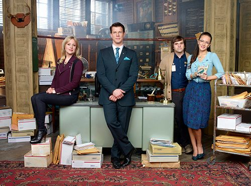 "Hallmark Channel's original scripted series ""Signed Sealed Delivered"" will be moving to sister network Hallmark Movies & Mysteries as a movie franchise....love this series!!!!!."