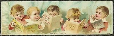 ʕ´・ᴗ・`ʔ READ                                               Victorian Trade Card Hood's Sarsaparilla