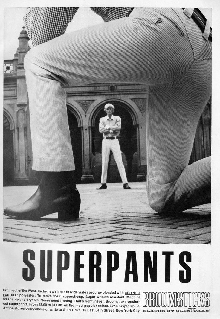 Superpants 1966 vintage clothingvintage
