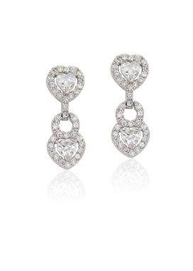 Hearts Couture earrings available at www.theblingsociety.com.  View product and buy here: http://www.theblingsociety.com/Hearts_Couture_Earrings_p/tbswe2274-1.htm
