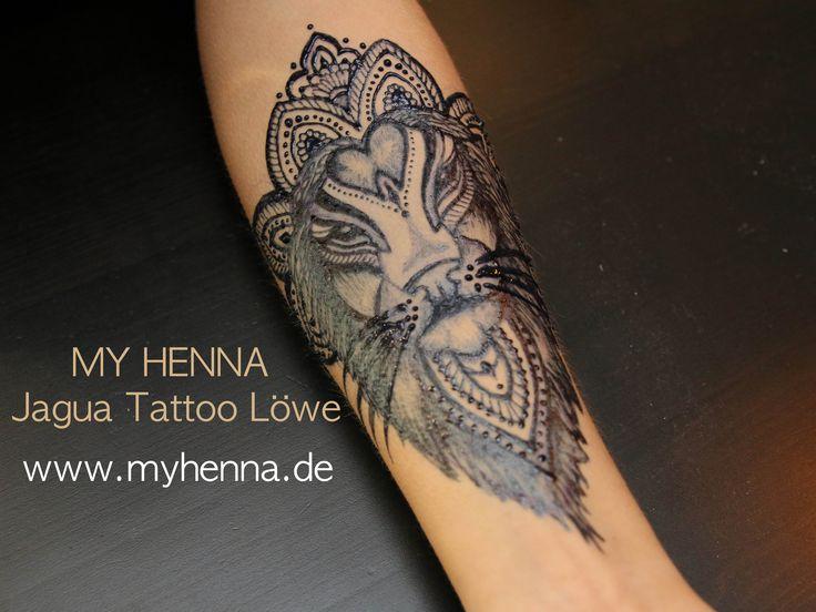 Jagua Tattoo: 33 Best Henna Lion Tattoo Images On Pinterest