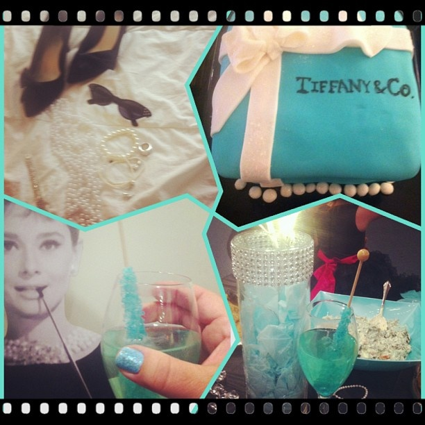 Tiffany Themed Party For Keira S 18th Birthday: 48 Best Images About Breakfast At Tiffany's On Pinterest
