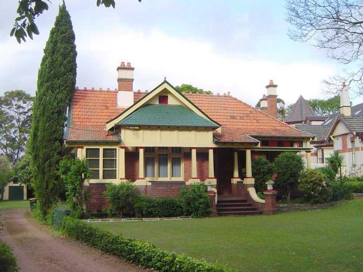 Federation house, Appian Way House, Burwood, Sydney, New South Wales, c. 1905-1910