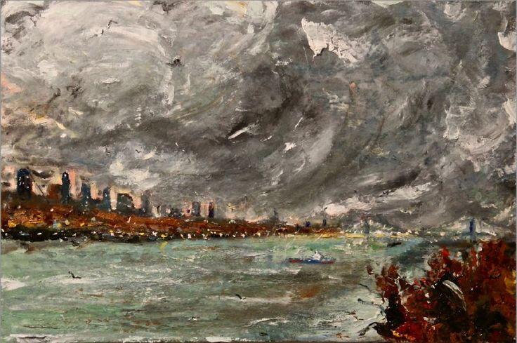 Frascati, alle Scuderie Aldobrandini in mostra l'Espressionismo di Simon Gaon fino al 14 marzo