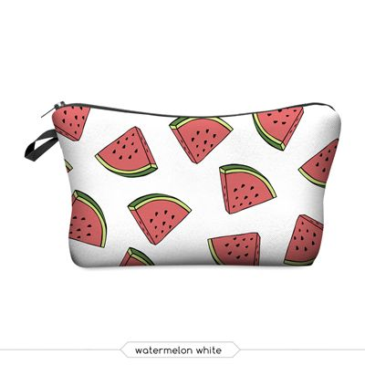 $3.98// Printed makeup bag// Multiple designs available// Delivery: 2-4 months