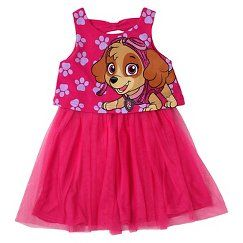 Paw Patrol Skye Toddler Girls' Sleeveless Dress - Pink