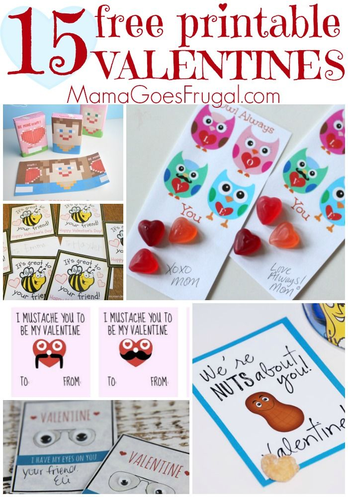 38 best NoCandy Valentine Ideas images – Print Your Own Valentines Card
