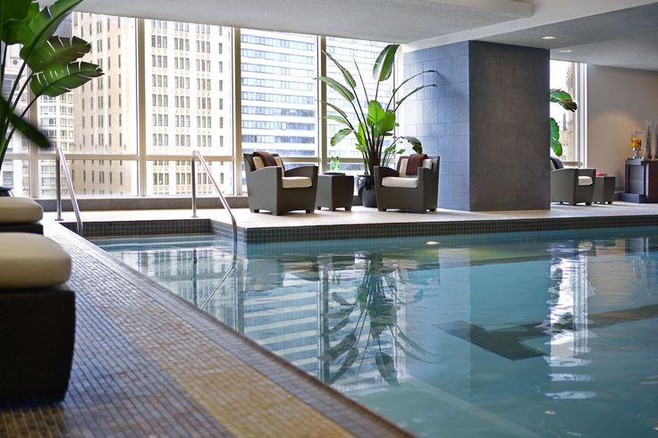 Trump tower hotel - 75 ft. heated indoor pool a spa and a range of classes within our two dedicated studios which include Yoga and Pilates.  Oh and pretty nice rooms..