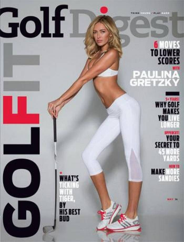 LPGA slams Paulina Gretzky's sexy Golf Digest cover