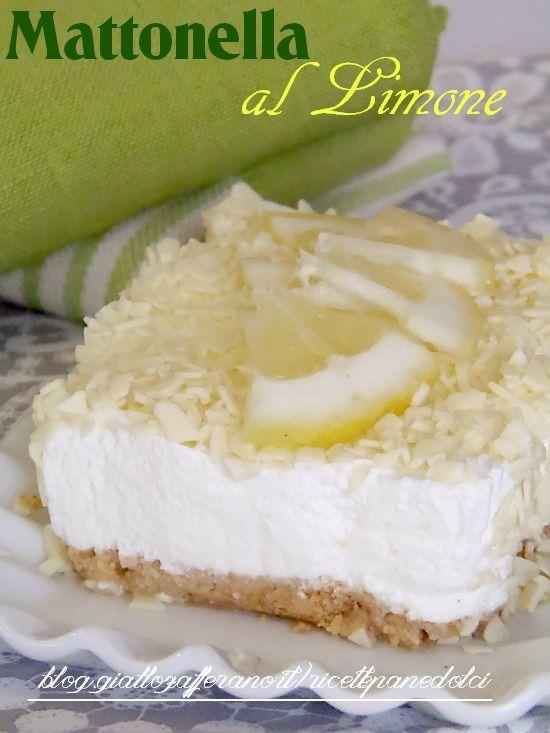 Ricetta Mattonella al Limone Leggera