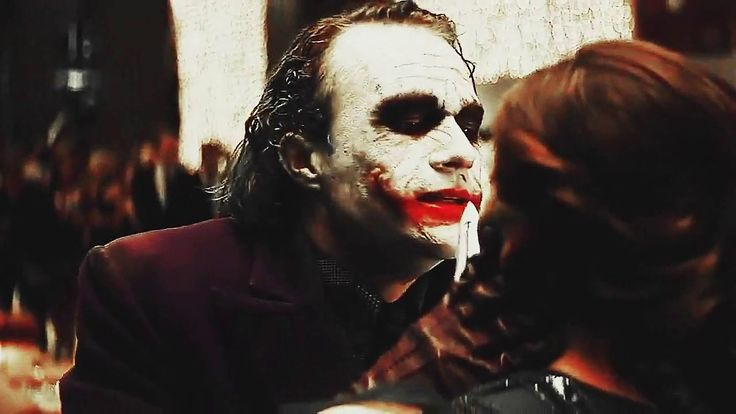 SCARLET (Joker's scars wife story)