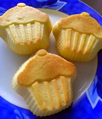 2 összetevős muffin