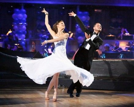 Zendaya and Val dance the Viennese Waltz on Prom Night #DWTS