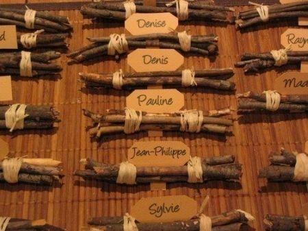 Les 25 meilleures id es de la cat gorie porte menu mariage sur pinterest menu mariage bois - Porte nom de table fait main ...