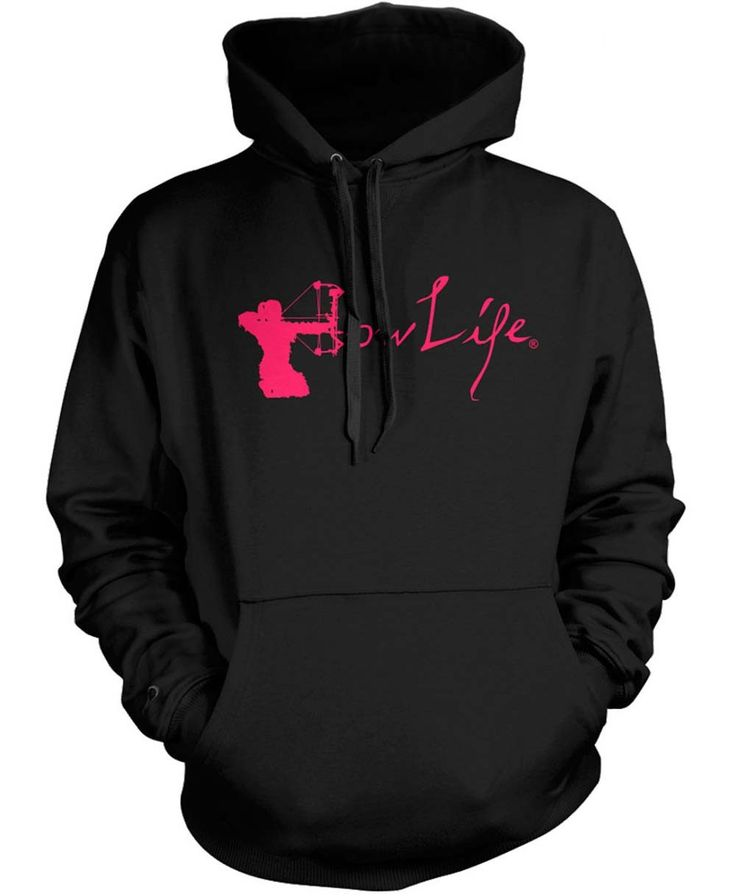 Bow Life Women's V2 Classic Hoodie | Ladies Archery Apparel | Girls Bowhunting Shirts