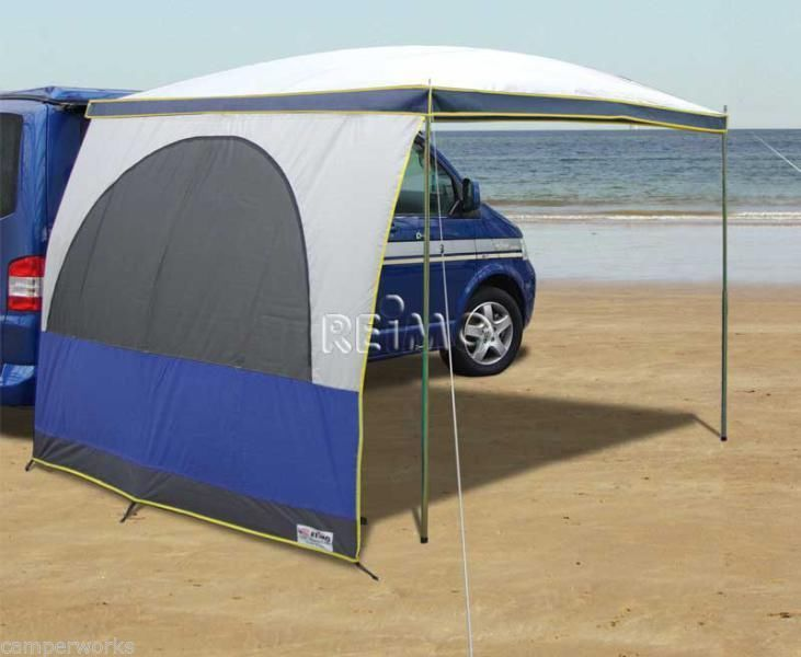 REIMO PALM BEACH 2.6m SWB SUN CANOPY DOME SHAPED AWNING For VW T5/T4  CAMPERVAN