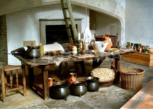 The Tudor Kitchens, Hampton Court Palace.