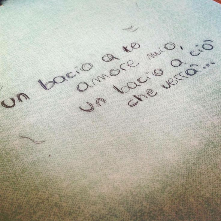 Un bacio a te amore mio, un bacio a ciò che verrà #nesli