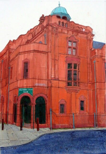 Salford Lads Club, Caroline Johnson