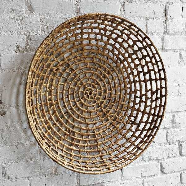 Woven Basket Wall Decor 48 best baskets images on pinterest | woven baskets, baskets on