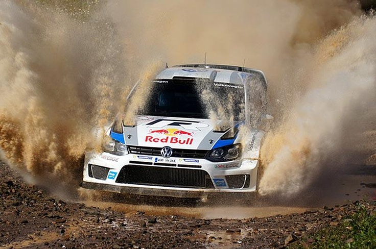 VW Polo R WRC rally car - Ogier - Latvala - Mikkelsen