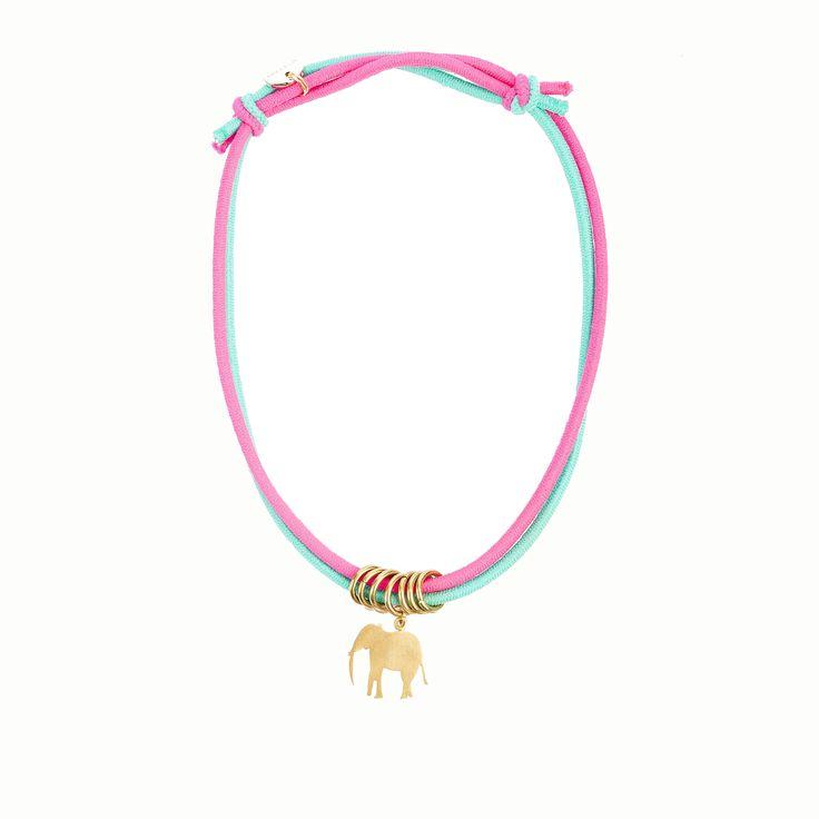Pink fluor Elephant