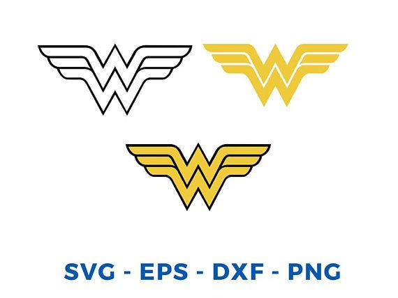 14 best svg vector images on pinterest silhouette cameo computer mouse and filing - Wonder woman logo vector ...