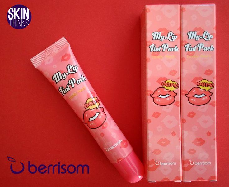 Color anaranjado con un delicioso olor melocotón: My Lip Tint Pack Lovely Peach de Berrisom Tinte de labios de larga duración que hidrata, elimina las células muertas y los mantiene maquillados y perfectos durante horas. No reseca, no mancha, no requiere retoques. Enriquecido con ingredientes naturales. ¿te atreves a probarlo?     #cosmeticacoreana #skinthinks #berrisom #myliptint #color #peach