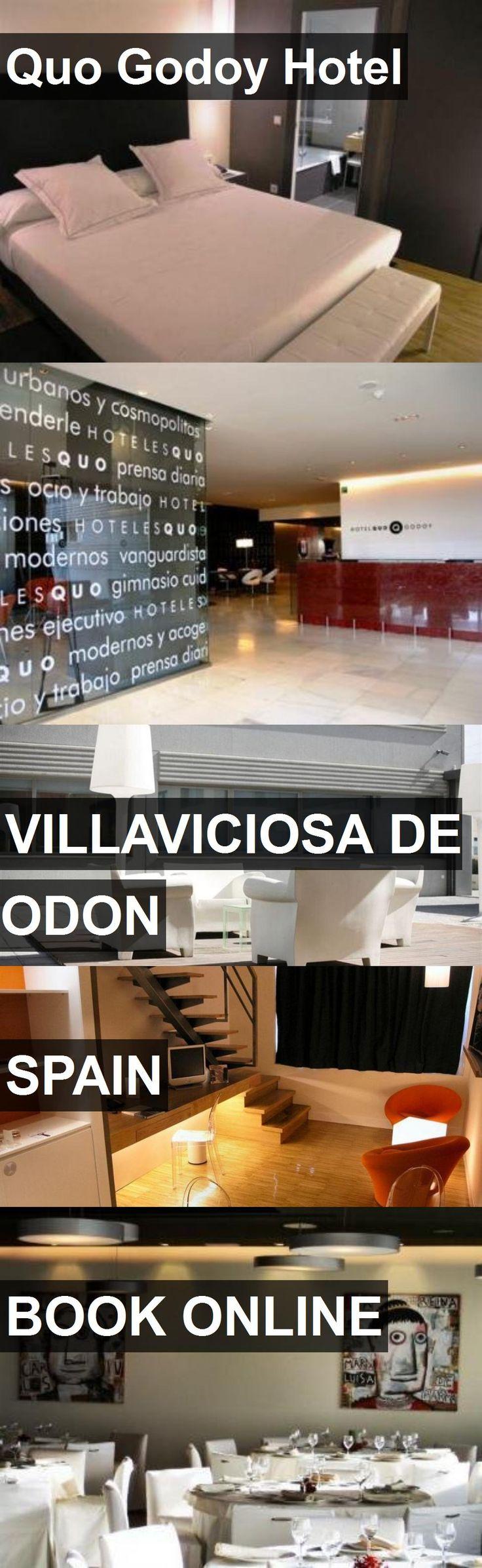 Hotel Quo Godoy Hotel in Villaviciosa de Odon, Spain. For more information, photos, reviews and best prices please follow the link. #Spain #VillaviciosadeOdon #QuoGodoyHotel #hotel #travel #vacation