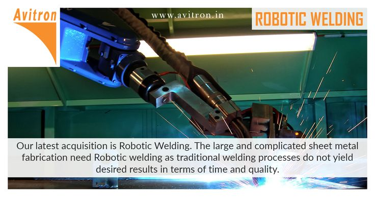 Our latest acquisition is Robotic Welding. The large and complicated sheet metal fabrication need Robotic welding as traditional welding processes do not yield desired results in terms of time and quality. Even today, a majority of sheet metal fabrication industries rely on gas metal arc welding or traditional arc welding procedures. However, these traditional welding methods have been found insufficient or inefficient to handle the ever-increasing customers' demand. Avitron... See More