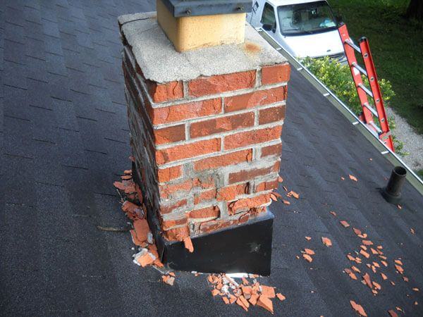 Chimney Repairs: The Complete Guide - Brick Restoration, Inc. | Brick  restoration, Brick repair, Diy roofing