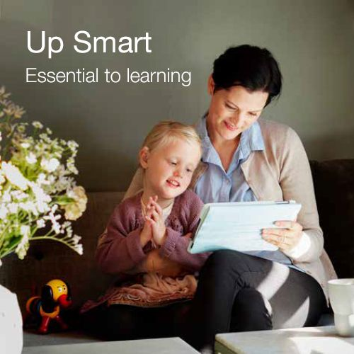 Up Smart. Essential to learning  Visit resound.com/en-AU/hearing-aids/up-smart